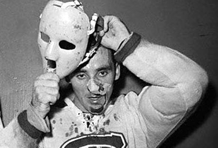 Jacques Plante, first mask